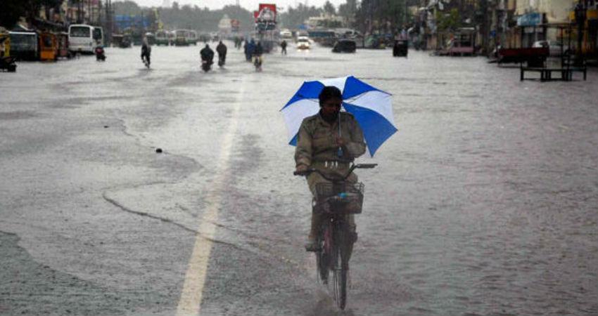 Low Pressure Area to give rains heavy rains in Odisha