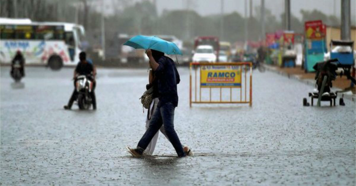 Monsoon rains in Madhya Pradesh--OneIndia 1200