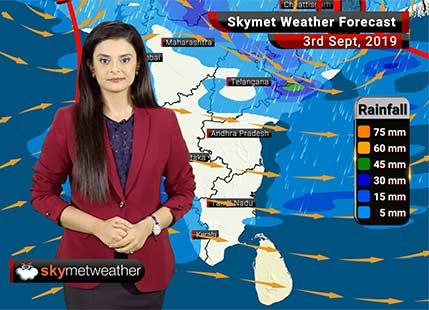 Weather Forecast Sep 3: Heavy rains in Kota, Jabalpur, Kerala, moderate showers in Vadodara, Surat