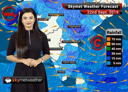 Weather Forecast Sept 22: Moderate rains to lash Ujjain, Porbandar, Tirupati, Vijayawada, Guwahati