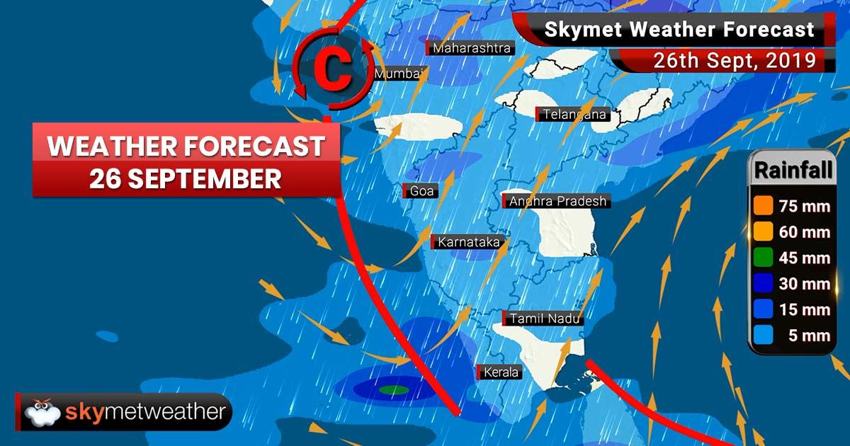 Weather Forecast Sept 26: Kochi, Kozhikode, Mangalore, Patna, Gaya, Prayagraj, Varanasi to witness moderate to heavy rains