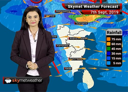 Weather Forecast Sept 7: Moderate to heavy rains in Nagpur, Indore, Surat, Udaipur, Kozhikode