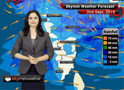 Weather Forecast Sep 2: Heavy rains to lash Rajkot, Surat and Nagpur, moderate showers in Mumbai