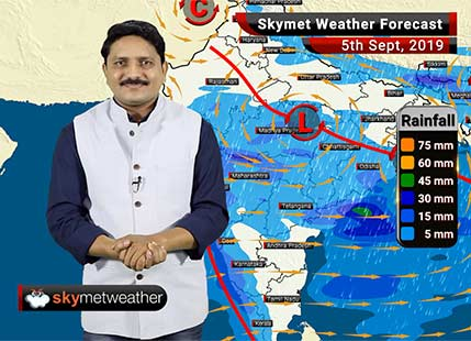 Weather Forecast Sep 5: Heavy monsoon rains likely in Gujarat, Madhya Pradesh and Maharashtra