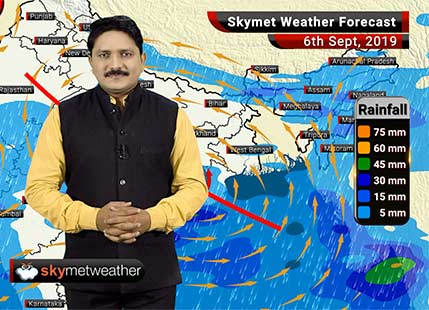 Weather Forecast Sep 6: Rain to decrease in Mumbai, heavy rains to continue in central India