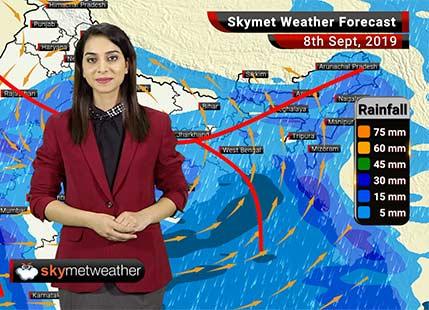 8 सितम्बर का मौसम पूर्वानुमान: महाराष्ट्र तट, गुजरात, मध्य प्रदेश में बारिश