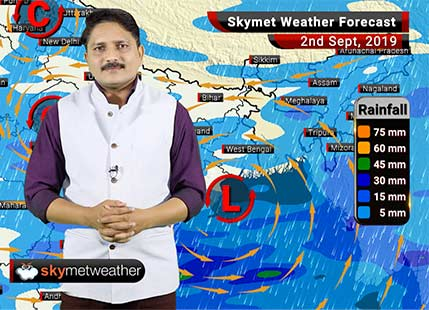 Weather Forecast Sep 2: Rains likely in Mumbai, Nagpur, Surat, Bhopal, Delhi, Lucknow and Patna