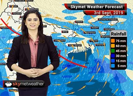 हवामान अंदाज 3 सप्टेंबर: मध्य महाराष्ट्र आणि मराठवाड्यात विखुरलेला पाऊस, मुंबईत मध्यम पाऊस