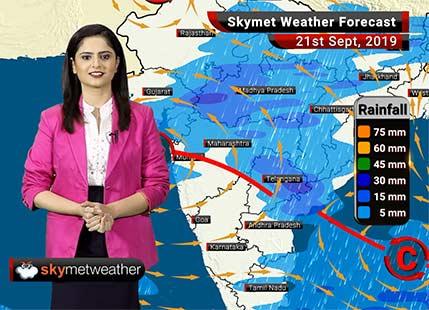 हवामान अंदाज 21 सप्टेंबर: मुंबईसह कोंकण व गोव्यात मध्यम सरींची शक्यता