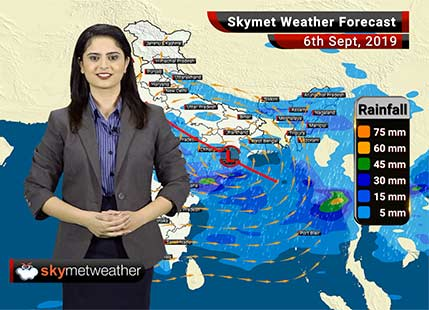 Weather Forecast Sept 6: One or two heavy spells likely in Vidarbha, Mumbai rains to reduce