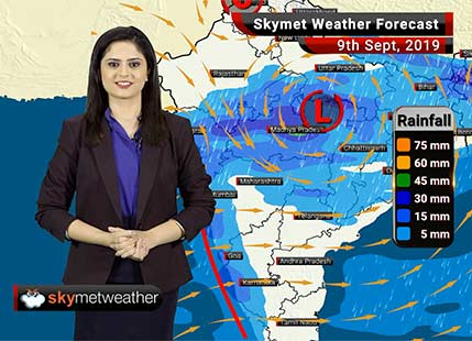 Weather Forecast Sept 9: Moderate rains likely in Vidarbha, North Konkan and Goa including Mumbai