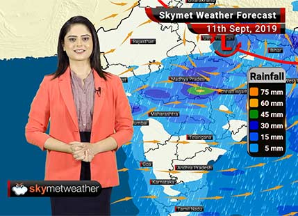 Weather Forecast Sept 11: Light rains to continue in Mumbai, light to moderate rain in Vidarbha