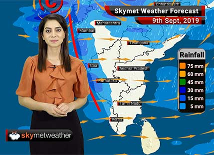 Weather Forecast Sep 9: Low Pressure Area to bring heavy rains in Madhya Pradesh and adjoining areas