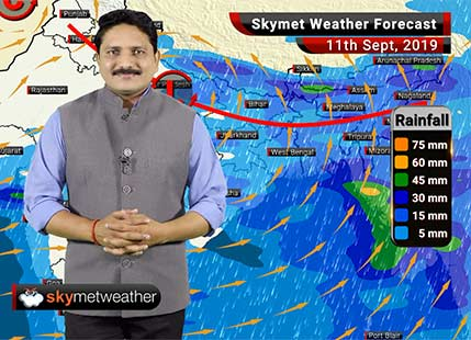 Weather Forecast Sept 11: Jabalpur, Prayagraj, Varanasi to get good rains, Delhi to remain dry