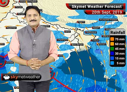 Weather Forecast Sept 20: Rains to continue in Surat, Indore, Mumbai, Nashik, light rain in Delhi