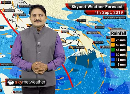 Weather Forecast Sep 4: Good Monsoon rains likely over Jabalpur, Nagpur, Surat, Vadodara, Mumbai and Udaipur