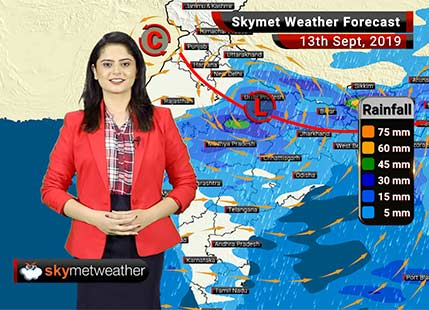 Weather Forecast Sept 13: Light to moderate rains in Vidarbha, scattered rains in Madhya Maharashtra