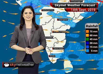 हवामान अंदाज 13 सप्टेंबर: विदर्भात हलका ते मध्यम पाऊस, मध्य महाराष्ट्रात विखुरलेला पाऊस