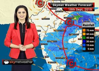 Weather Forecast Sept 18: Light rain in Mumbai, light to moderate in Madhya Maharashtra