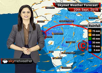 Weather Forecast Sept 20: Light to moderate rains in Vidarbha, moderate spells in Mumbai