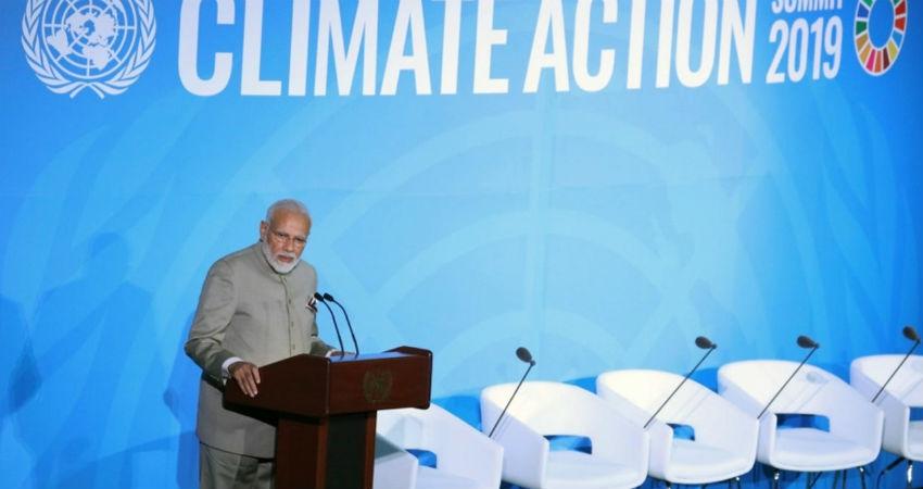 PM Modi at Climate Change summit