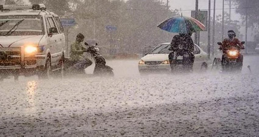 Rain to continue in Odisha heavy rain red warning