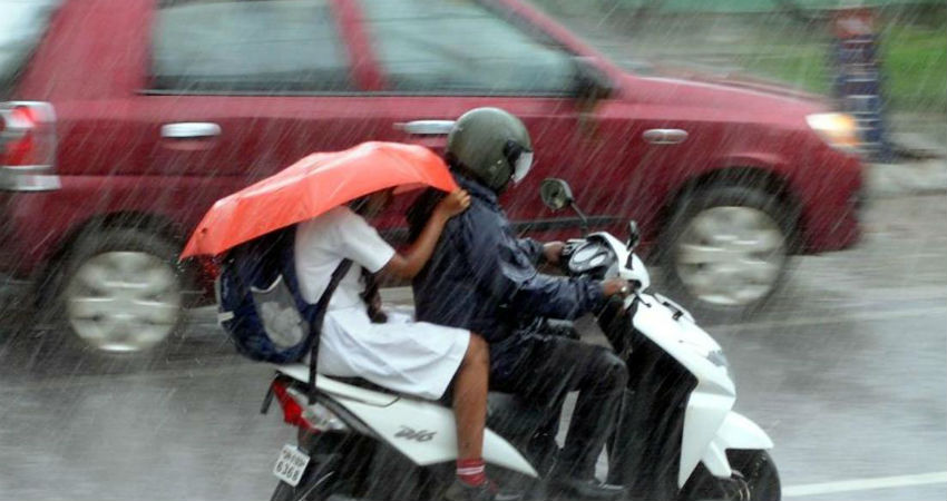 Rain in Haryana