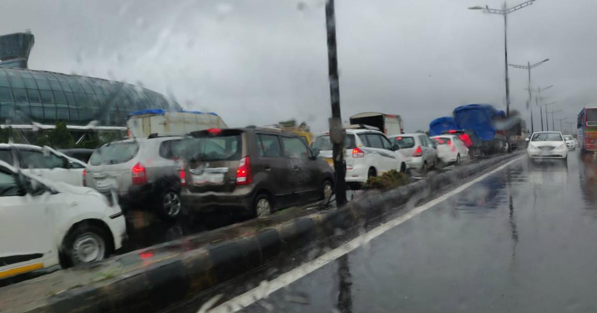 Rain in Kolhapur