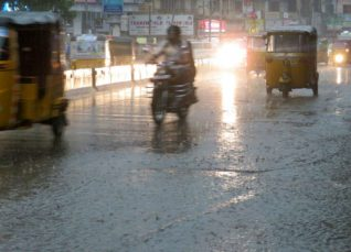 Rain over Andhra Pradesh and Telangana