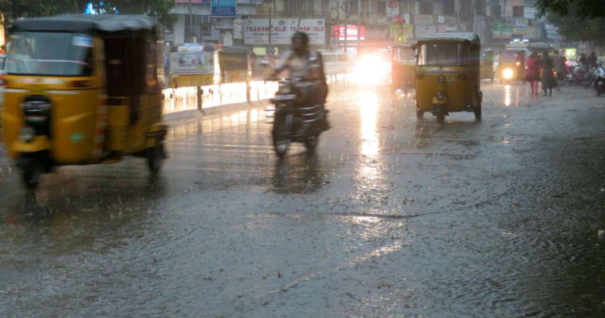 Rain over Andhra Pradesh and Telangana