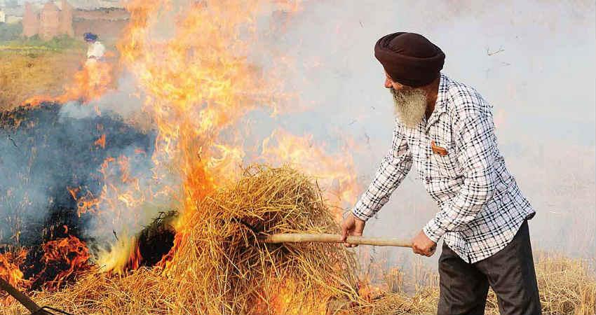 Stubble Burning Punjab