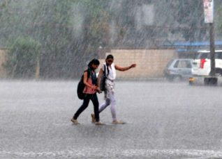 Rain in Andhra Ppradesh and Telangana