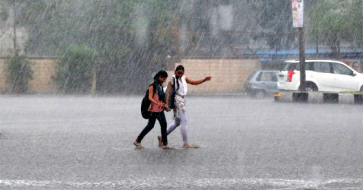 Rain in Andhra Ppradesh and Telangana