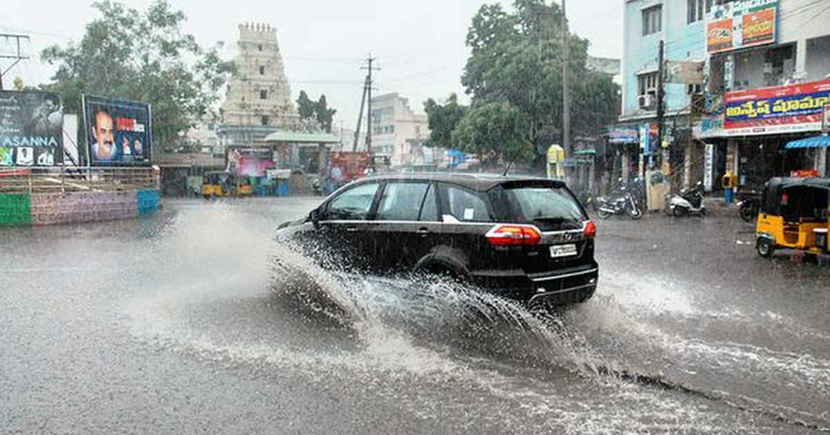 Telangana and Hyderabad rains