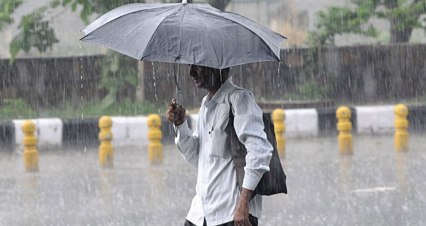 Monsoon Rain in Uttar Pradesh