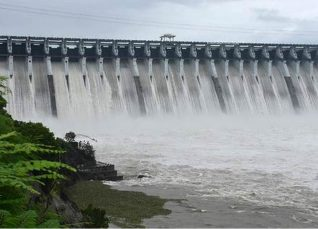 Narmada Dam Water