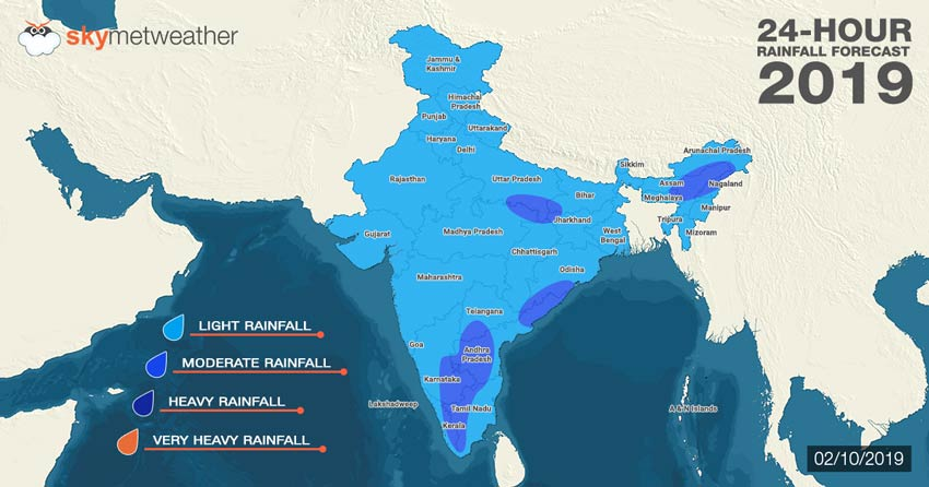 Monsoon 2019: Rain forecast for October 2