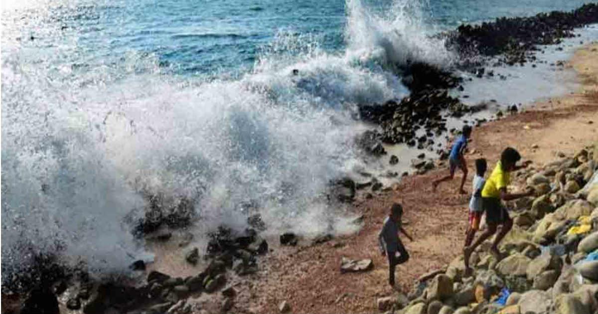 Cyclone in Arabian Sea