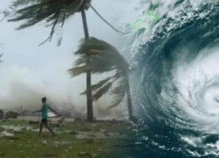 Cyclonic storm 2019