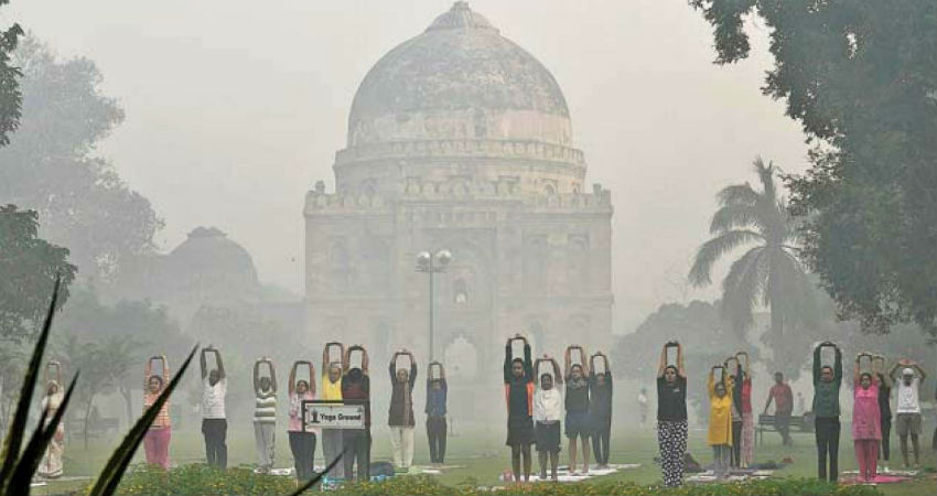 Delhi pollution and Weather