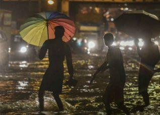 Mumbai rains night