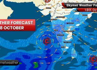 Weather Forecast Oct 18: Good rains ahead for Mumbai, Chennai, Bengaluru, Hyderabad, Kochi