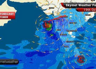 Weather Forecast Oct 19: Heavy rains in Karnataka, TN, Kerala, Mumbai, Pune, Nashik, Goa