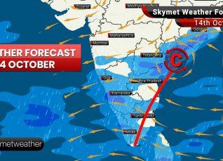 Weather Forecast Oct 14: Delhi pollution spikes, rain ahead for Chennai, Bengaluru, Hyderabad