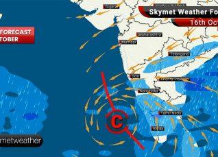Weather Forecast Oct 16: Moderate to Heavy rain likely over Karnataka, Kerala, parts of Tamil Nadu