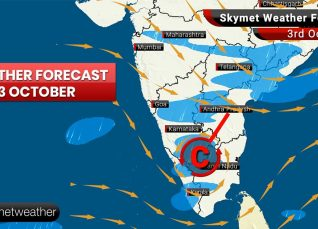 Weather Forecast Oct 3: Temperature in Delhi to rise, moderate rain likely in Patna, Gaya, Bengaluru, Kozhikode, Kannur