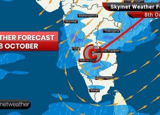 Weather Forecast Oct 8: Moderate rain likely over Bengaluru, Kolkata, Puri, Ranchi, Jamshedpur, Durga Puja 2019 celebration to be disrupted