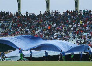 Rain during India vs SA