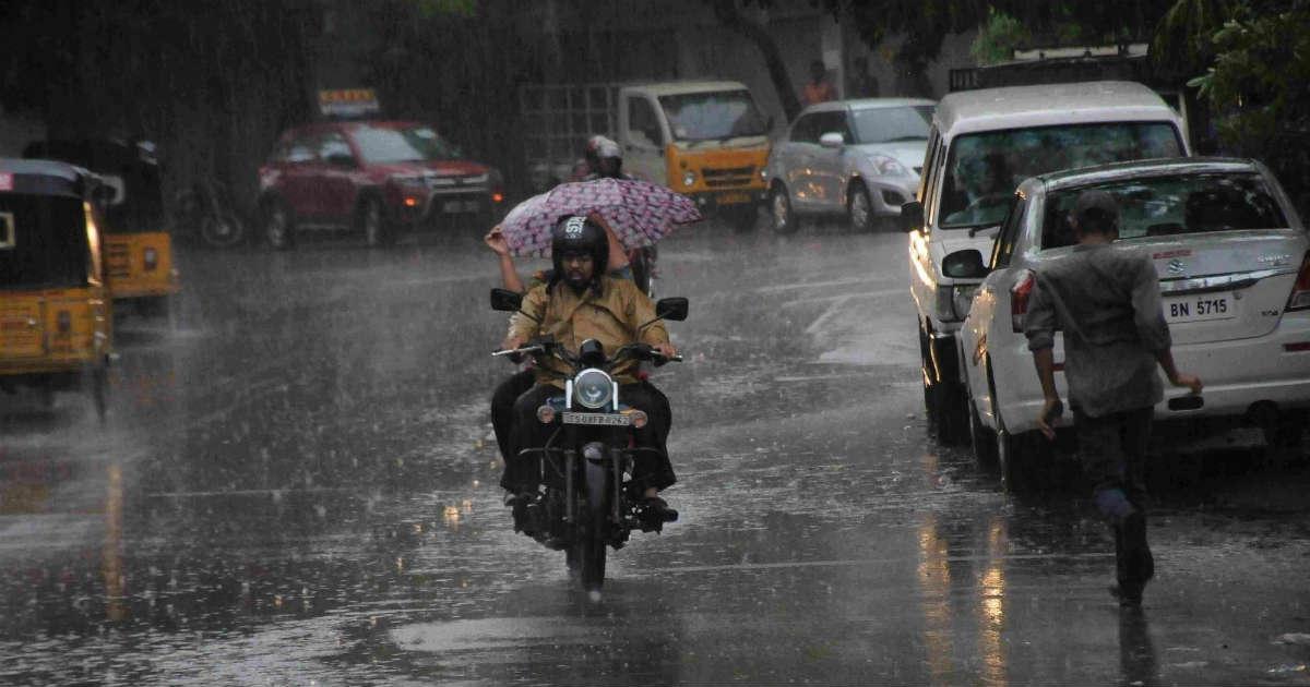 Rain in Andhra and Telangana