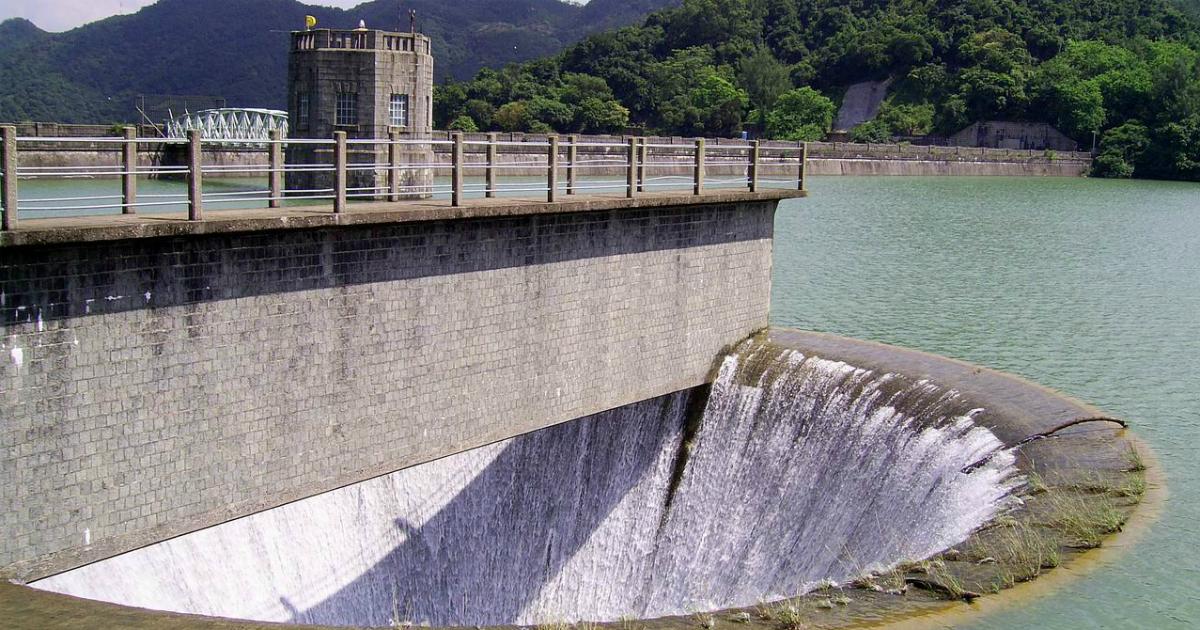 Water reservoir in India s
